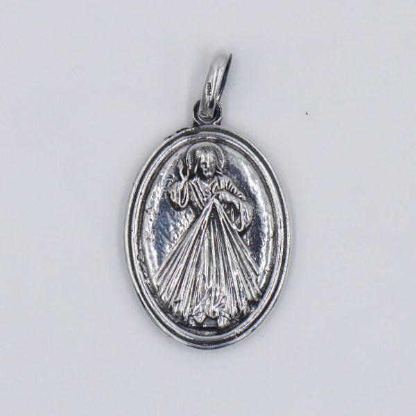 medalla divina misericordia virgen medjugorje