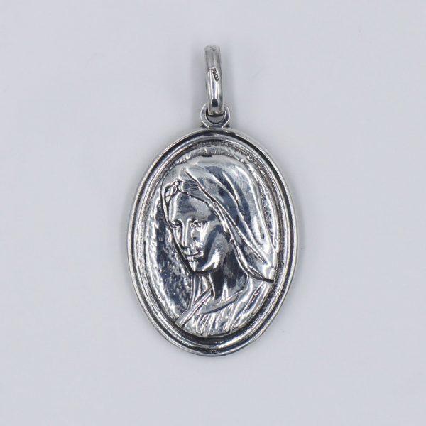 medalla virgen medjugorje divina misericordia