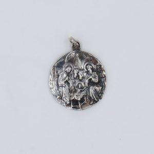 Medalla con estimación del Nacimiento de Jesús
