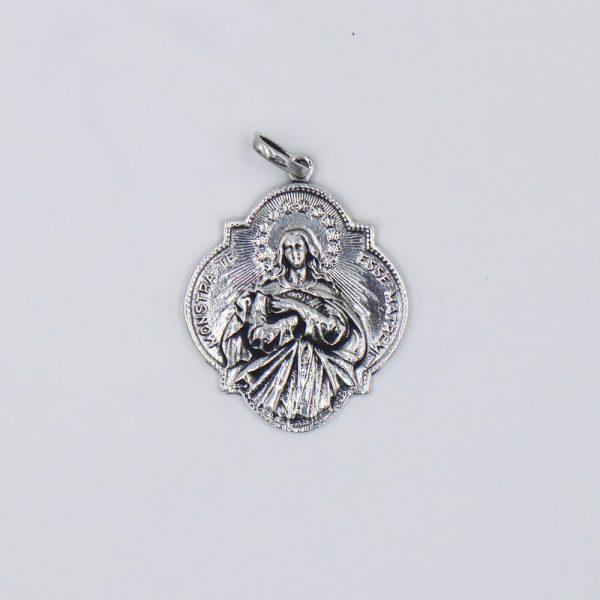 medalla de la Inmaculada Concepción y el corazon de Maria