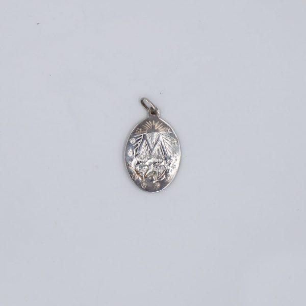 Medalla ovalada de la Virgen Milagrosa