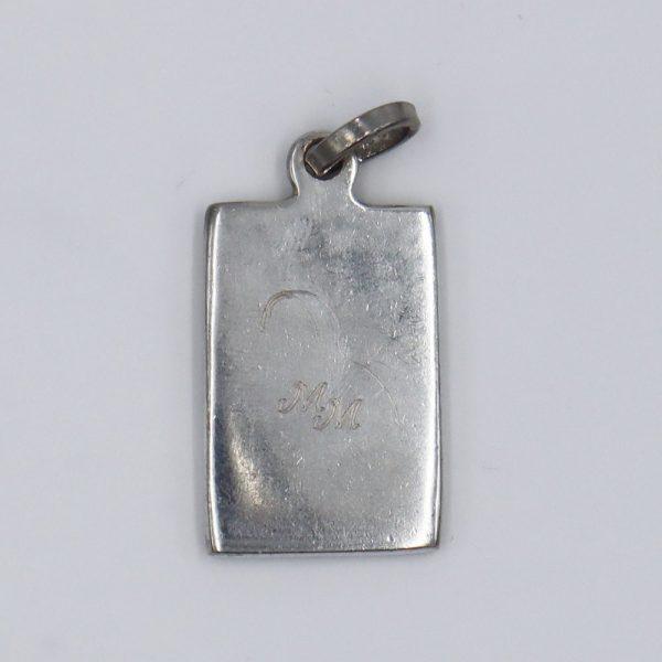 Medalla Cuadrada Virgen Nuestra Señora del Guadalupe