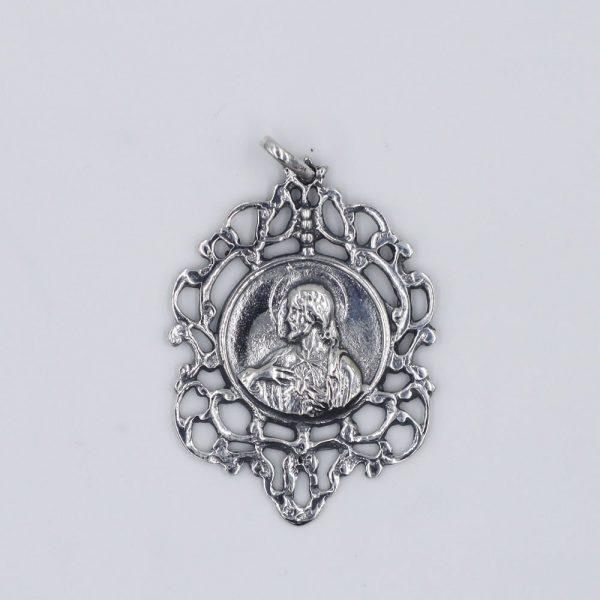 Escapulario Nuestra Señora Virgen del Carmen y Sagrado Corazón